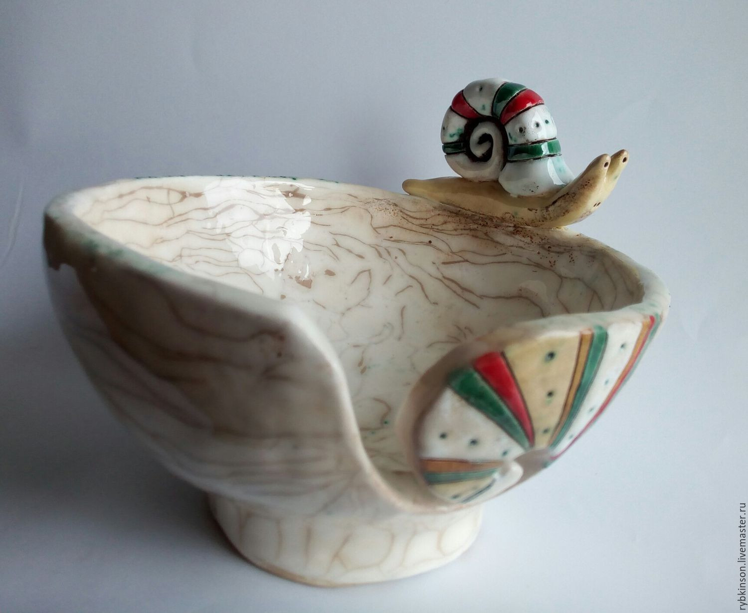 ceramic vases handmade of bowl for knitting a snail shop online on livemaster with shipping with regard to vases handmade livemaster handmade buy bowl for knitting a snail