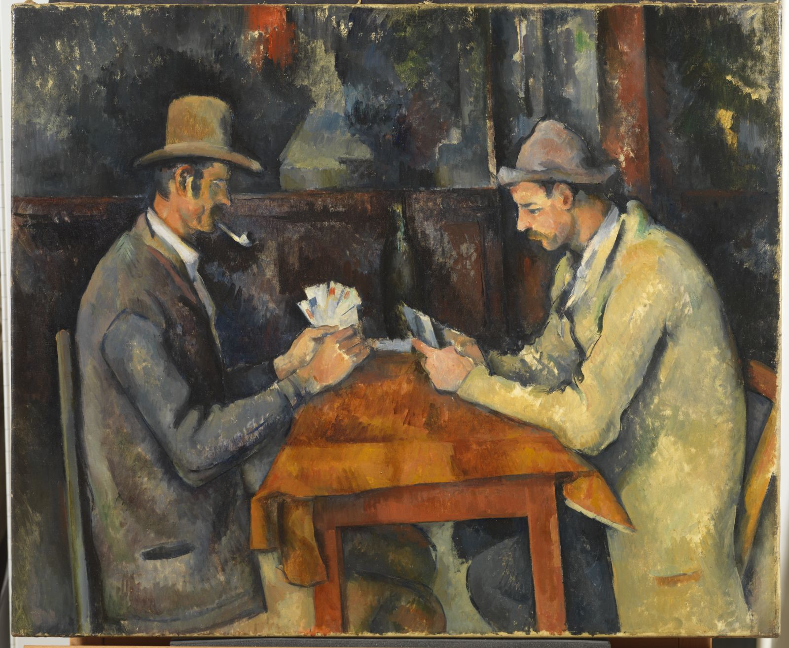 cezanne blue vase of paul cazanne the card players 1892 95 courtauld institute of with regard to paul cazanne the card players 1892 95 courtauld institute of art london