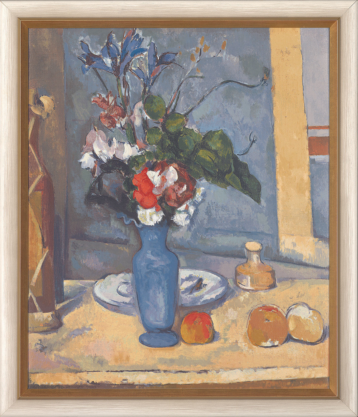cezanne blue vase of paul cezanne the blue vase painting for sale pertaining to painting the blue vase