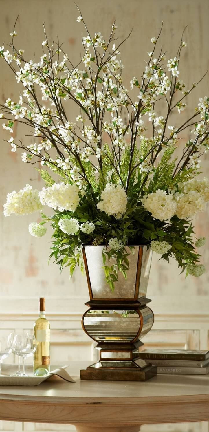 champagne colored vases of a glamorous floral arrangement with an artistic vase inside a glamorous floral arrangement with an artistic vase homedecoraccessories arranged pinterest floral arrangement floral and flower arrangements