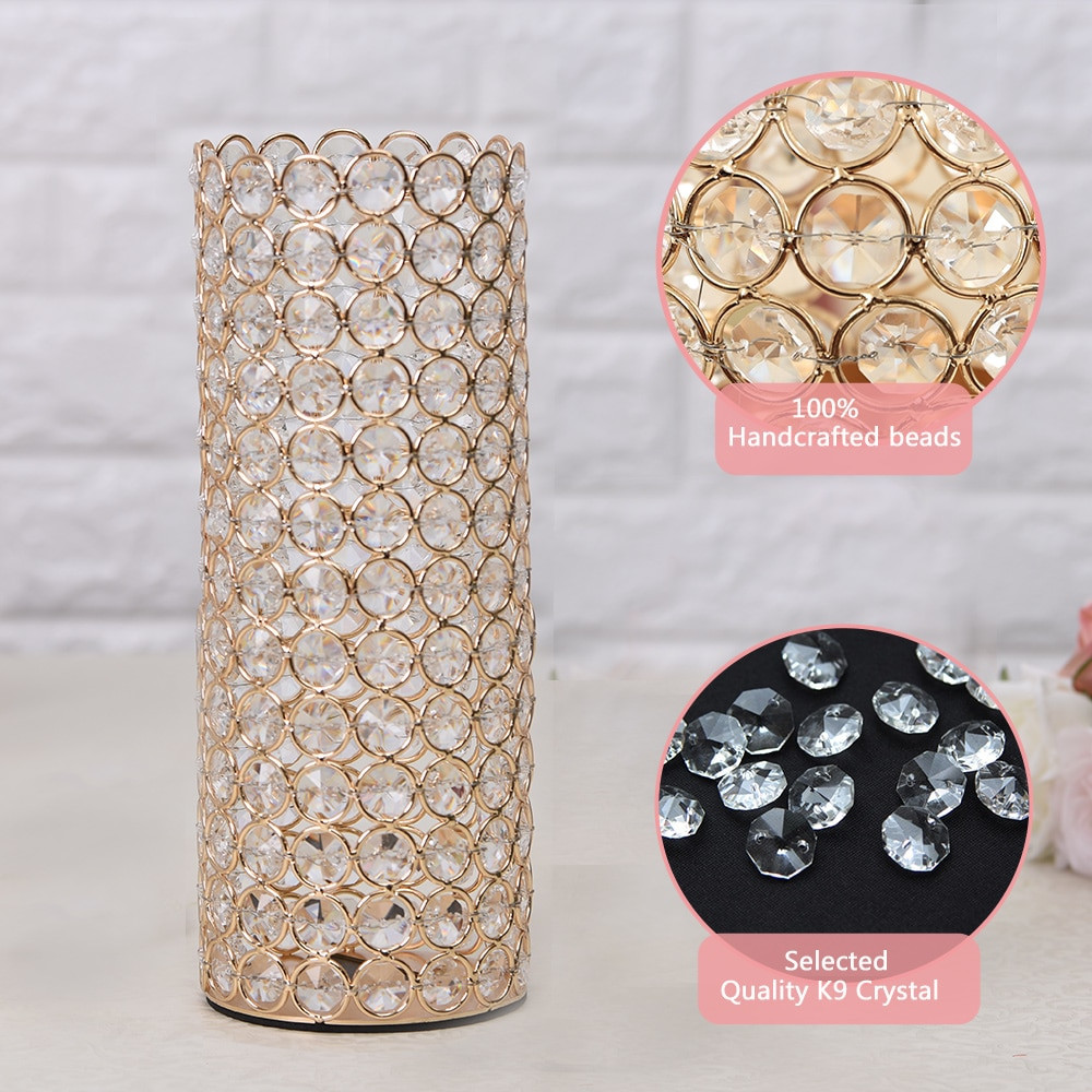 cheap 10 inch cylinder vases of 2018 vincigant crystal cylinder vases candle holders for home regarding elegant unique designbeautifully fashioned in trendy lofty cylinder shape this bedazzl