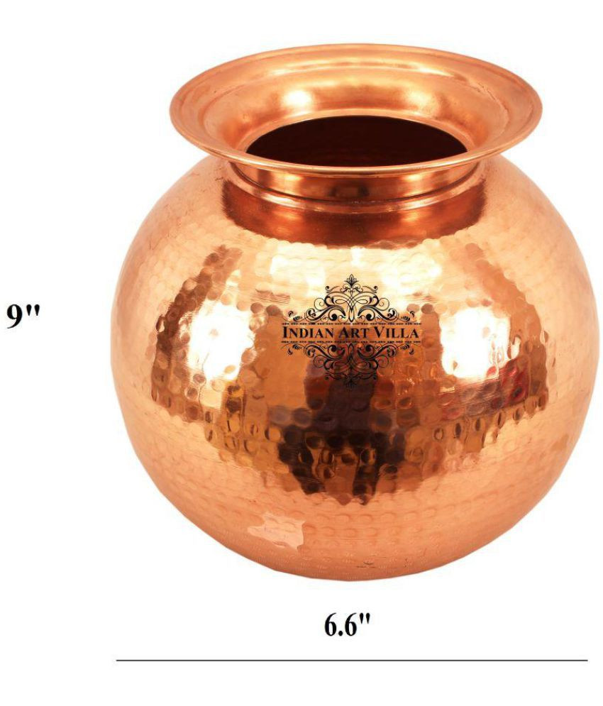 cheap copper vases of indianartvilla no coating copper pot buy online at best price in throughout indianartvilla no coating copper pot