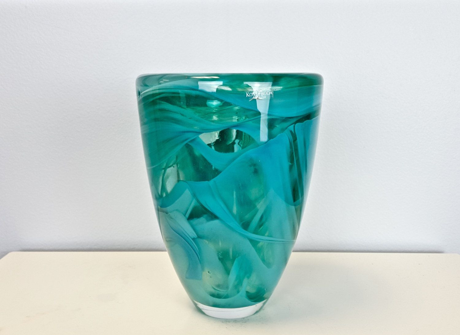 Cheap Glass Vases Near Me Of Vintage Kosta Boda Aqua Art Glass Vase Kosta Boda Aqua Votive for Vintage Kosta Boda Aqua Art Glass Vase Kosta Boda Aqua Votive Candle Holder Turquoise Swirl Art Glass Vase Scandinavian Decor Swedish 95 00 Usd by