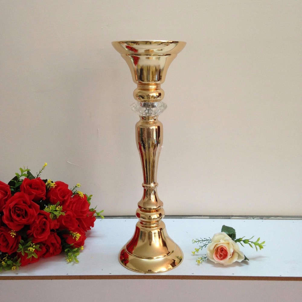 cheap gold vases for centerpieces of gold wedding flower vase flower stand table centerpiece 49cm tall with gold wedding flower vase flower stand table centerpiece 49cm tall 10pcs lot in vas