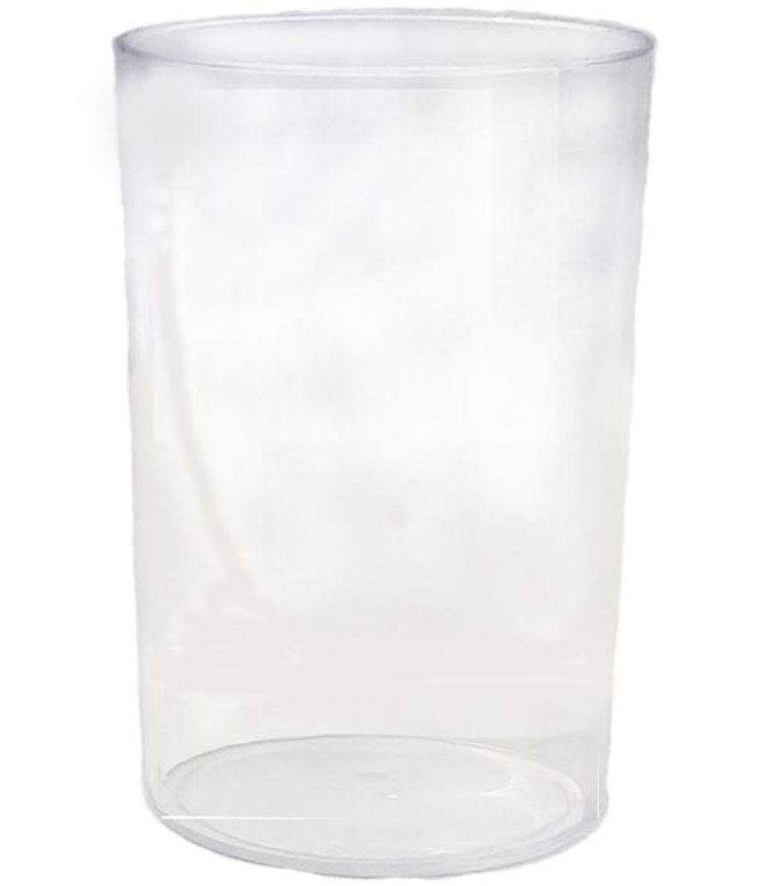 Cheap Round Glass Vases Of Unbreakable Round 300ml Plastic Transparent Glass Set Of 6 Buy In Unbreakable Round 300ml Plastic Transparent Glass Set Of 6