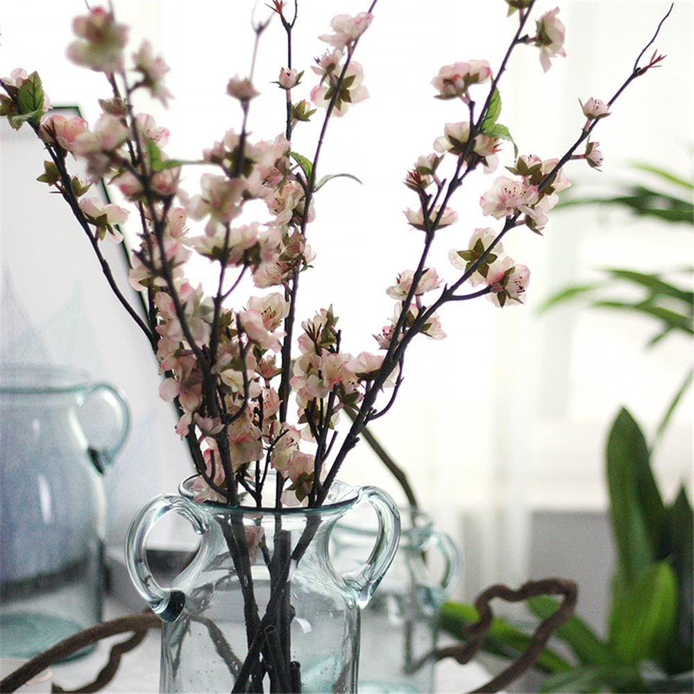 cherry blossom in vase of 2018 beautiful peony bouquet artificial flowers peony vivid flores with regard to 110cm cherry blossom artificial flowers simulation sakura with leaves silk flowers wedding decoration home decoration accessorie