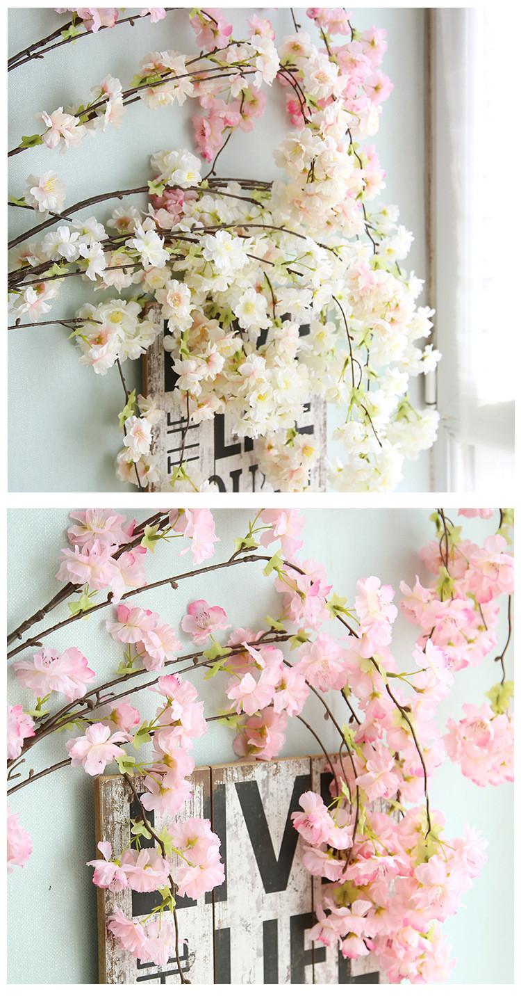 cherry blossom vase of artificial cherry blossoms plant wall cherry tree simulation pear with aeproduct getsubject