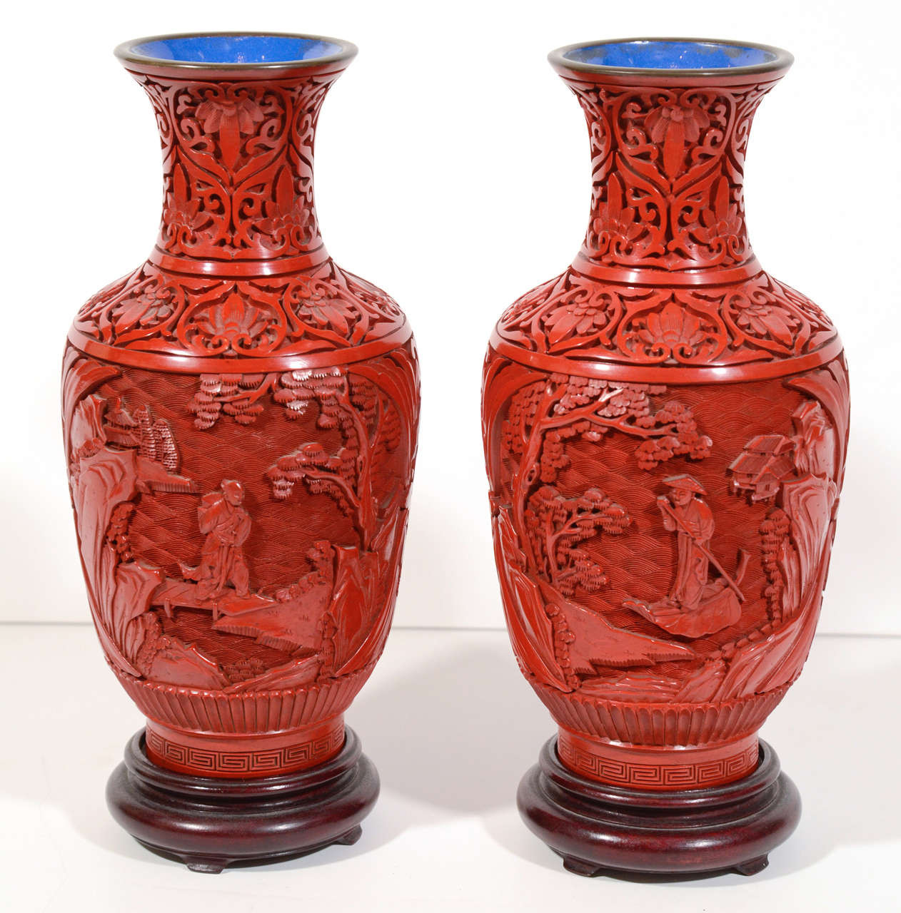 27 Awesome Chinese Cinnabar Lacquer Vase