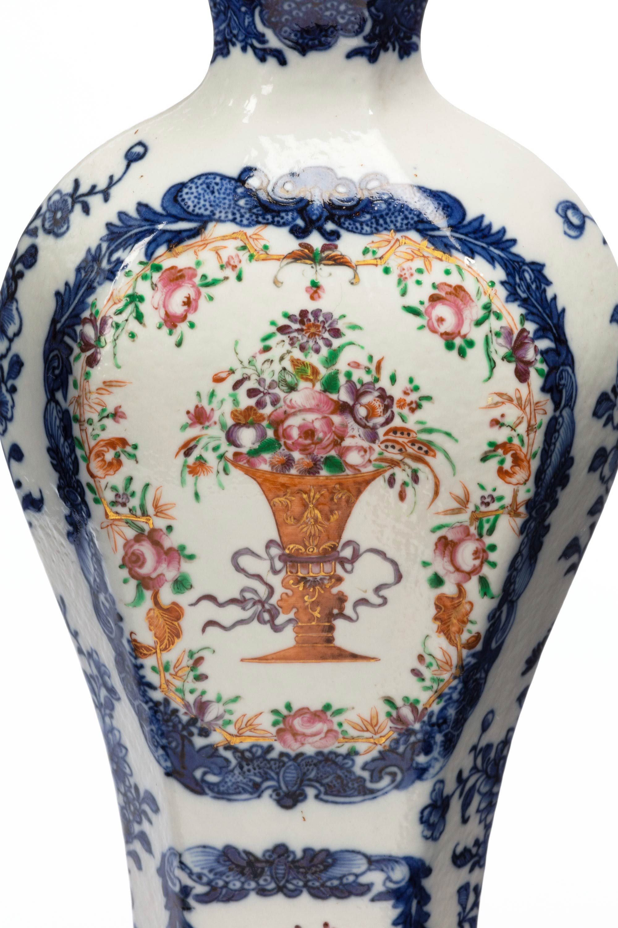 Chinese Cloisonne Enamel Vase Of Pair Of Qianlong Period Vases for Sale at 1stdibs In 8136 2 1 org