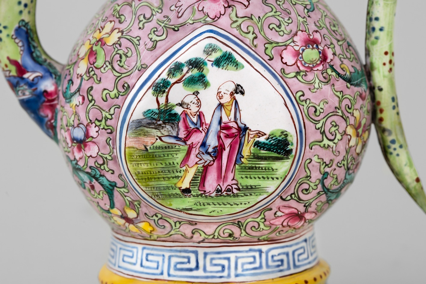 chinese cloisonne vase of a chinese canton enamel ewer and cover 18th century anita gray for a chinese canton enamel ewer and cover