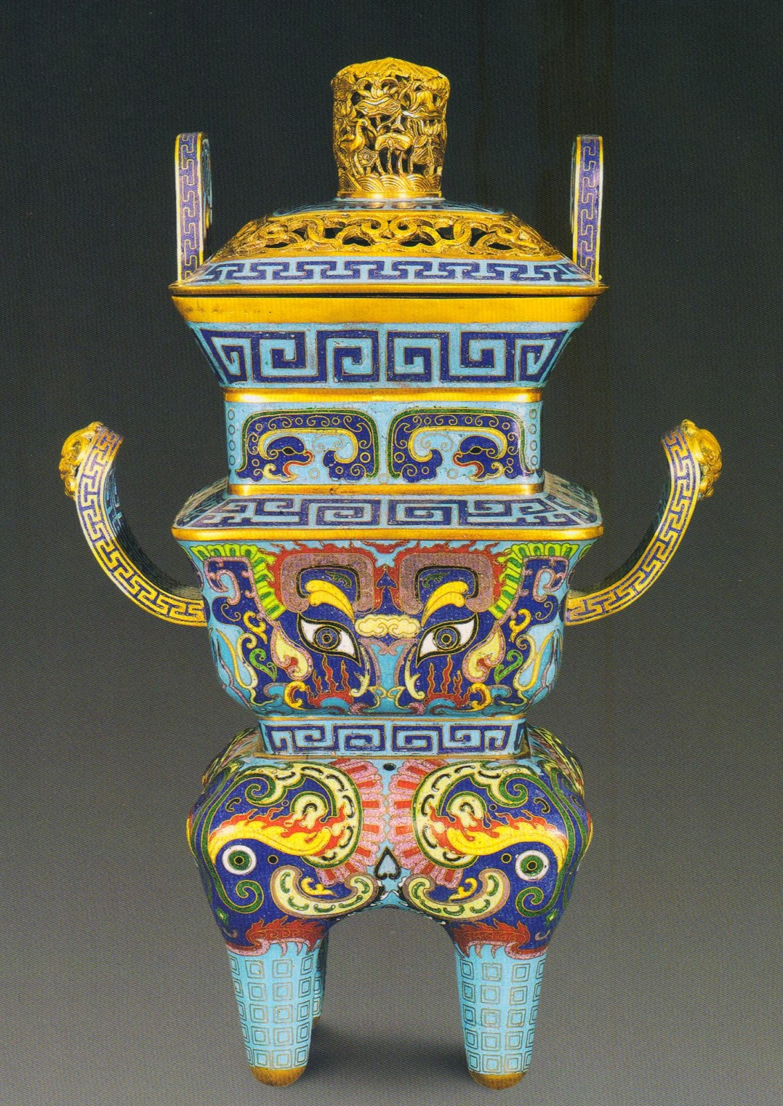 Chinese Cloisonne Vase Of Emperors Antique A Fine and Rare Cloisonne Enamel and Gilt Bronze Regarding Compiled From Sungari 2008 Spring Works Of Art Auctions