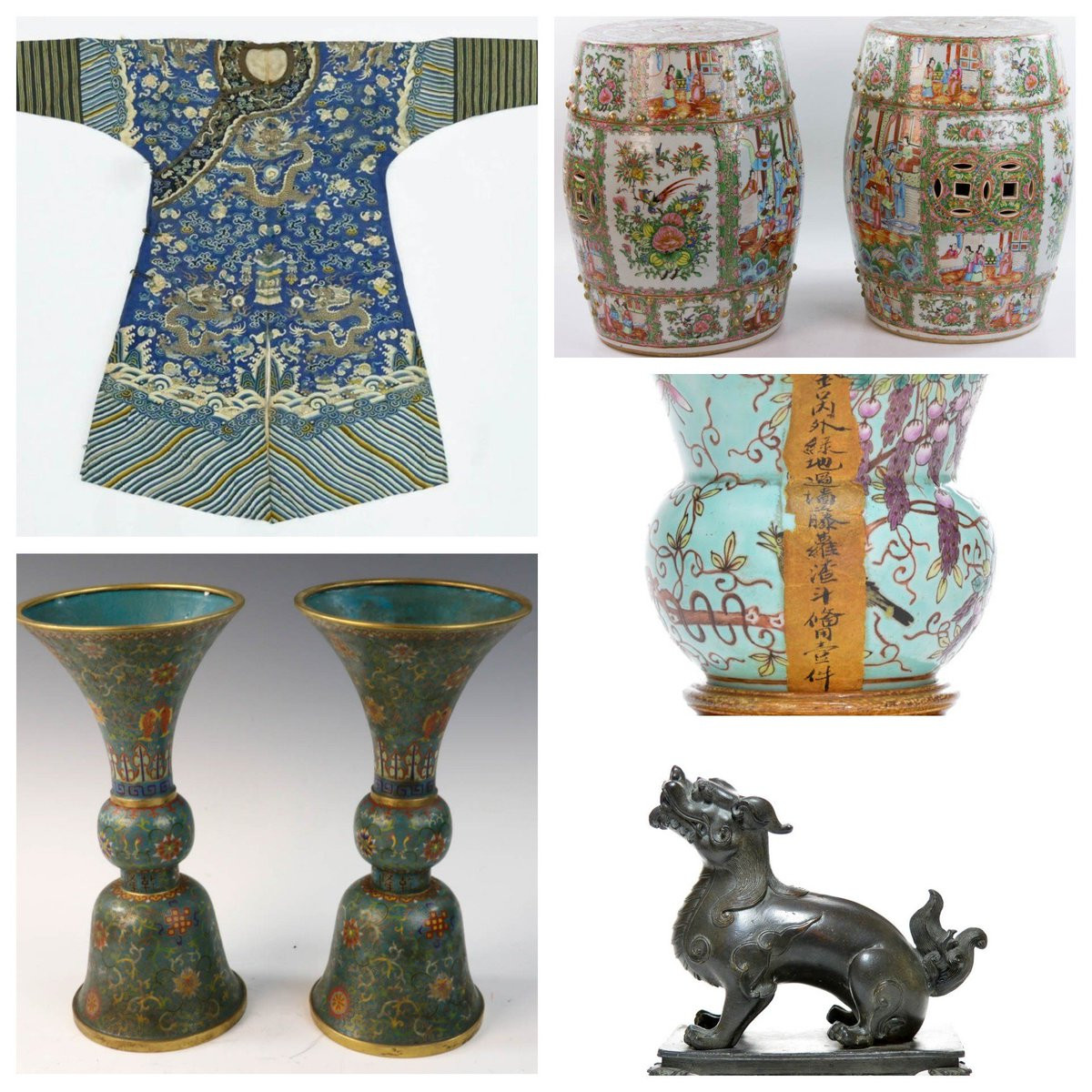 chinese cloisonne vase of porcelains hashtag on twitter inside featuring over 200 lots of exquisite chinese porcelains antiques bronze buddhas cloisonna guanyins silver jewelry ceramics decorativeart