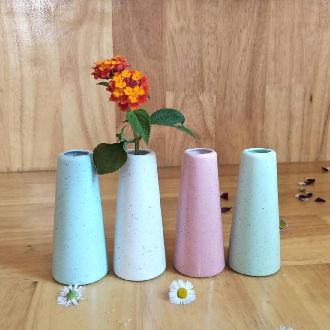 chinese flower vase of flower vases for homes mini ceramic tabletop vase for flowers home in flower vases for homes mini ceramic tabletop vase for flowers home room study hallway office wedding decor pink skyblue white in vases from home garden on