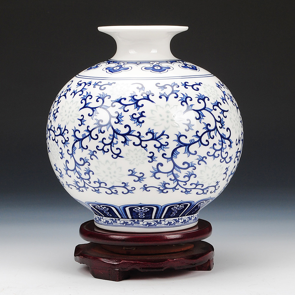 chinese flower vase porcelain of china jingdezhen vase ceramics china jingdezhen vase ceramics intended for get quotations a· jingdezhen ceramics exquisite blue and white bone eggshell small vase modern classical chinese living room table