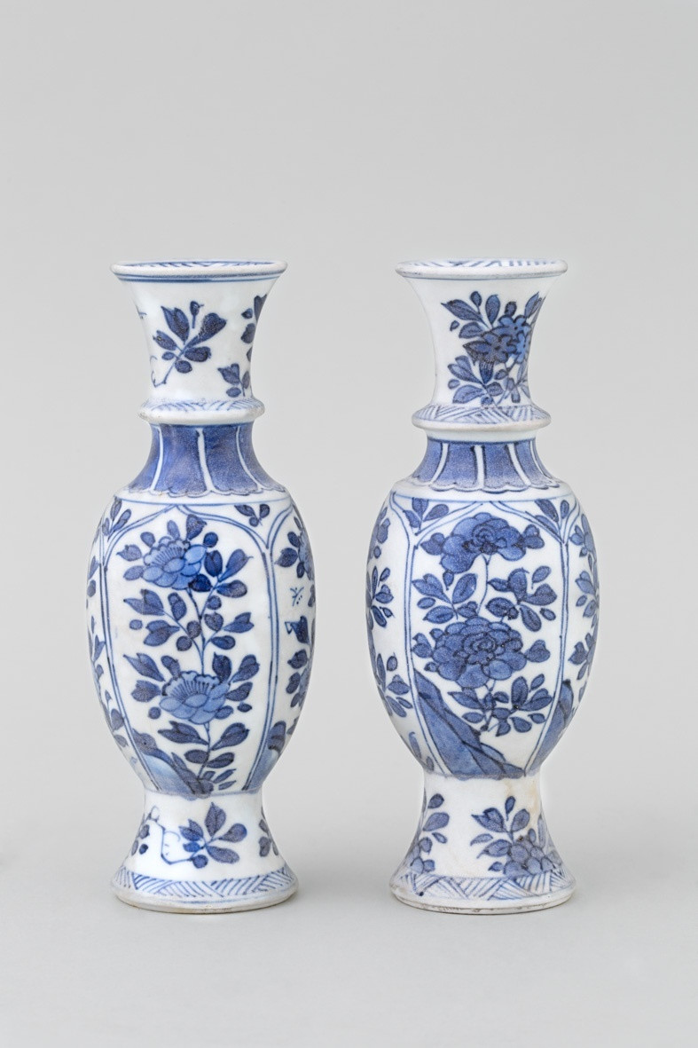 Chinese Porcelain Vase Of Chinese Blue and White Vases From the Vung Tao Cargo Kangxi 1662 with Chinese Blue and White Vases From the Vung Tao Cargo