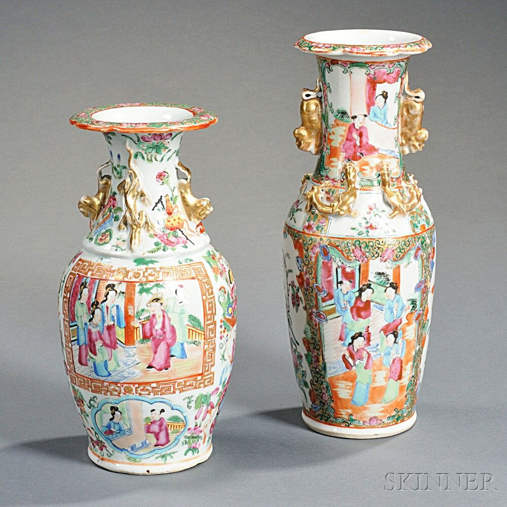13 Perfect Chinese Rose Medallion Vase