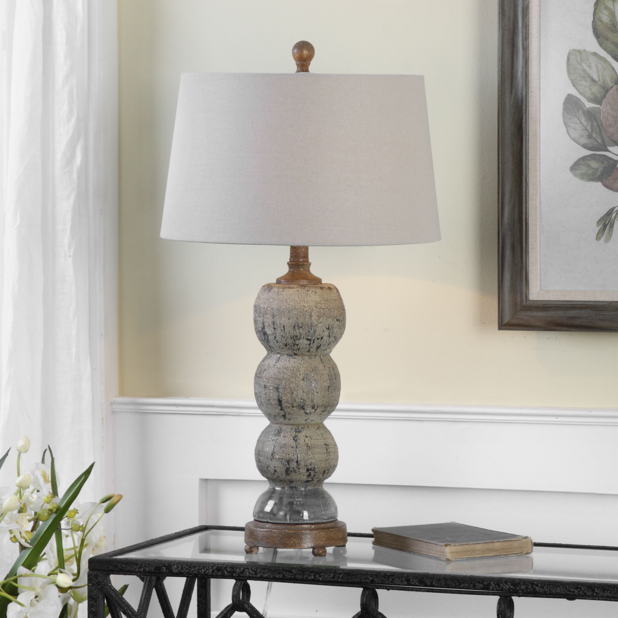 chinese vase lamp of shop uttermost amelia textured ceramic lamp free shipping today for shop uttermost amelia textured ceramic lamp free shipping today overstock com 13575485