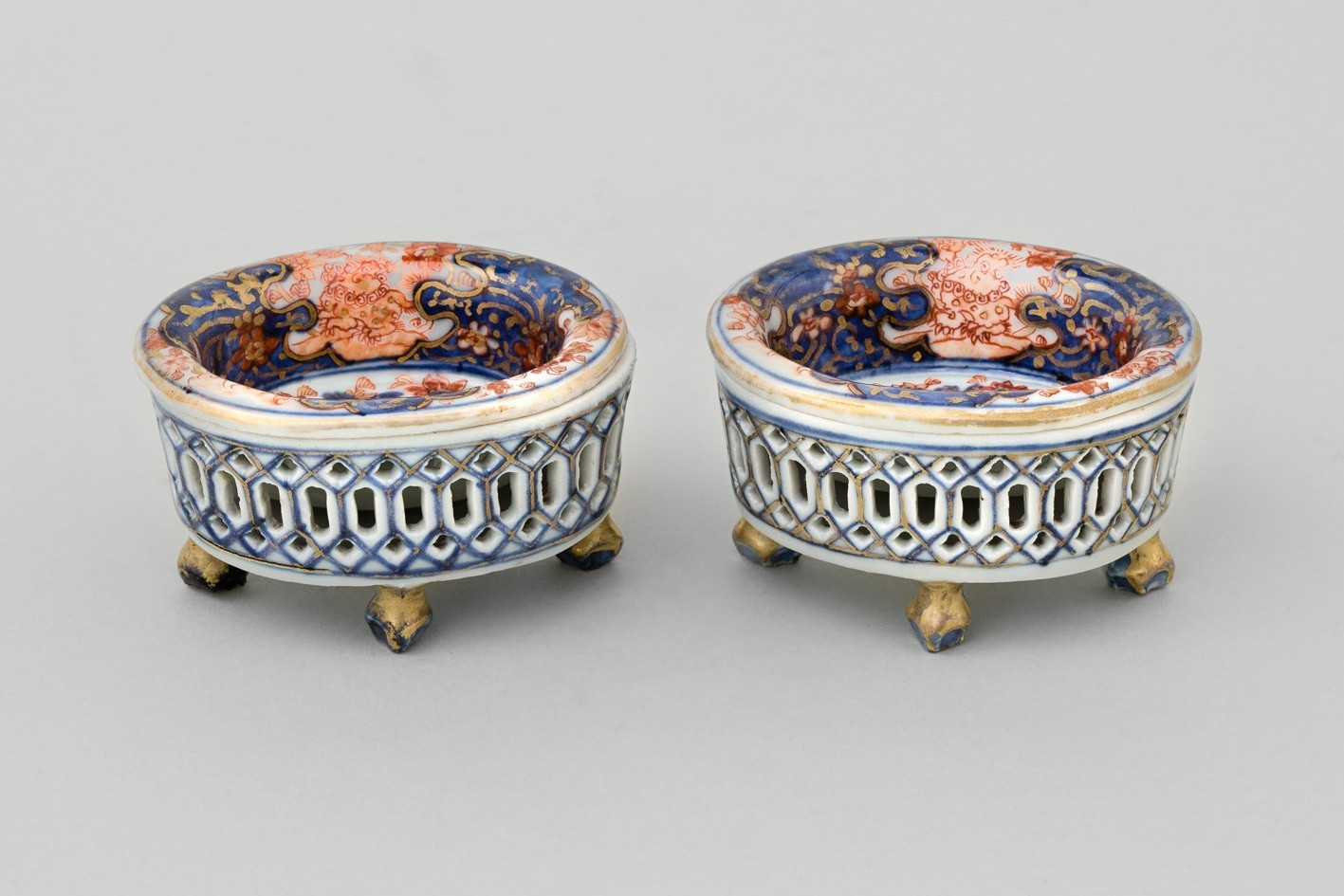 chinese vase with lid of a pair of reticulated chinese salts qianlong 1736 1795 anita gray for a pair of reticulated chinese salts