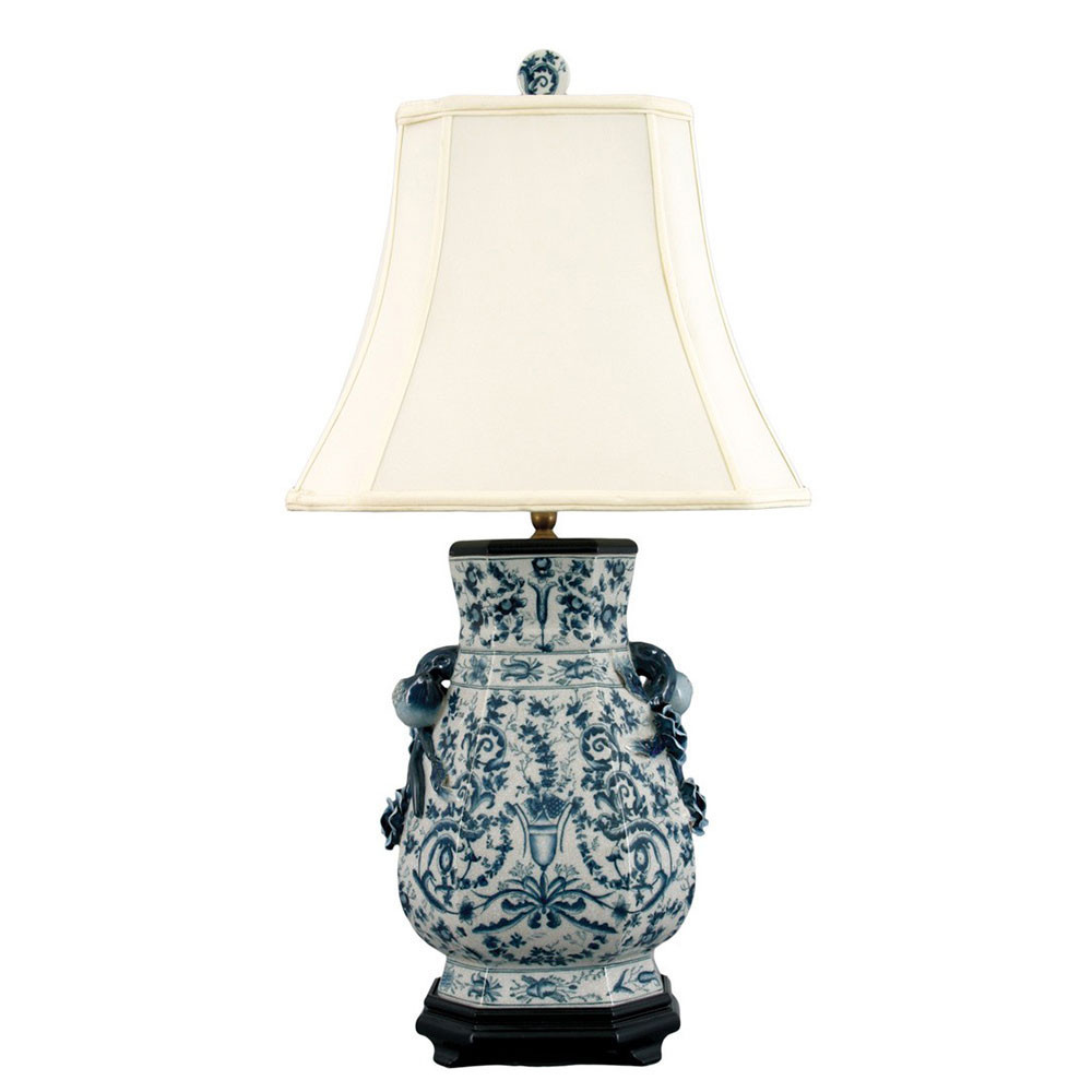 chinese vase with stand of 37 beautiful blue and white table lamps creative lighting ideas regarding od l 1