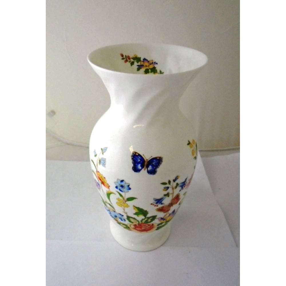 Chinese Vases for Sale Uk Of Aynsley China Cottage Garden Local Classifieds Preloved with Regard to Oxfam Shop Truro Aynsley Cottage Garden 9 23cm High Vase Ideal for Decoration or Every Day Use Diameter at Rim 4 25 11cm In Excellent Condition with
