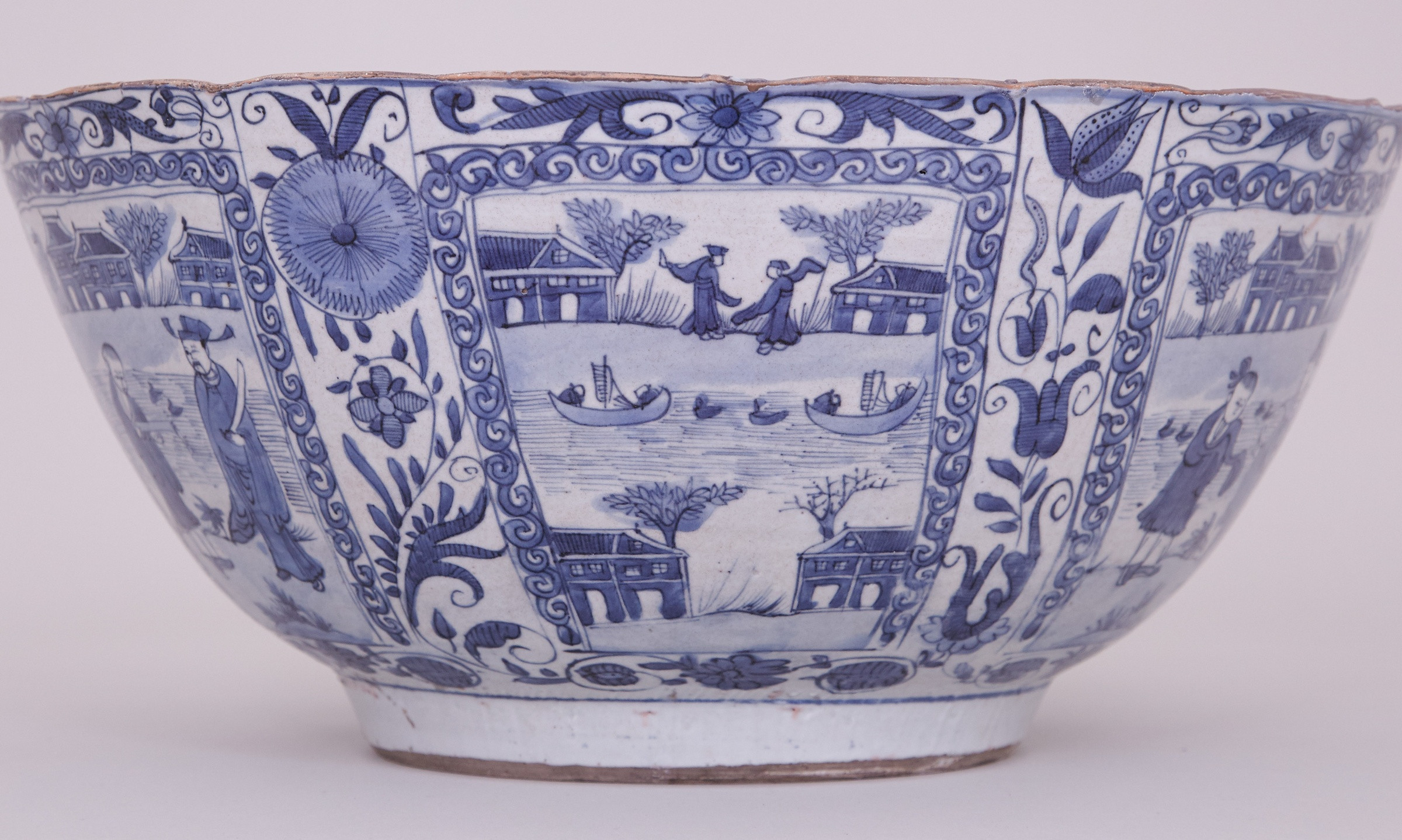 chinese vases history of a large chinese blue and white kraak bowl 1635 1650 chongzheng with regard to a large chinese blue and white kraak bowl