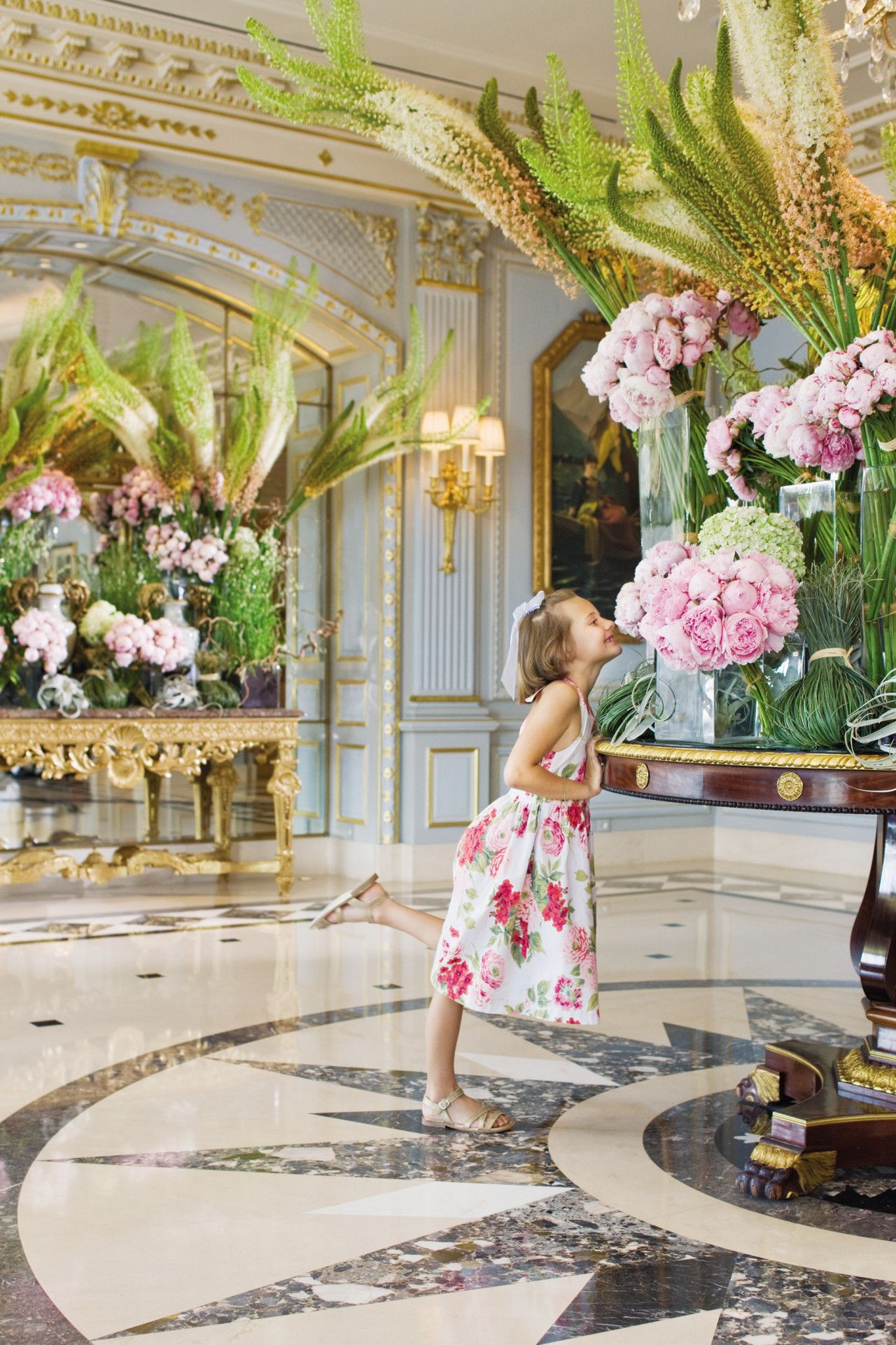 christian tortu vase of stopping to smell the roses or are those peonies at four seasons pertaining to stopping to smell the roses or are those peonies at four seasons hotel geneva