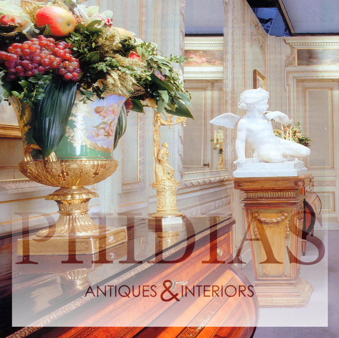 christofle orangerie vase of tous les antiquaires de proantic in phidias antique