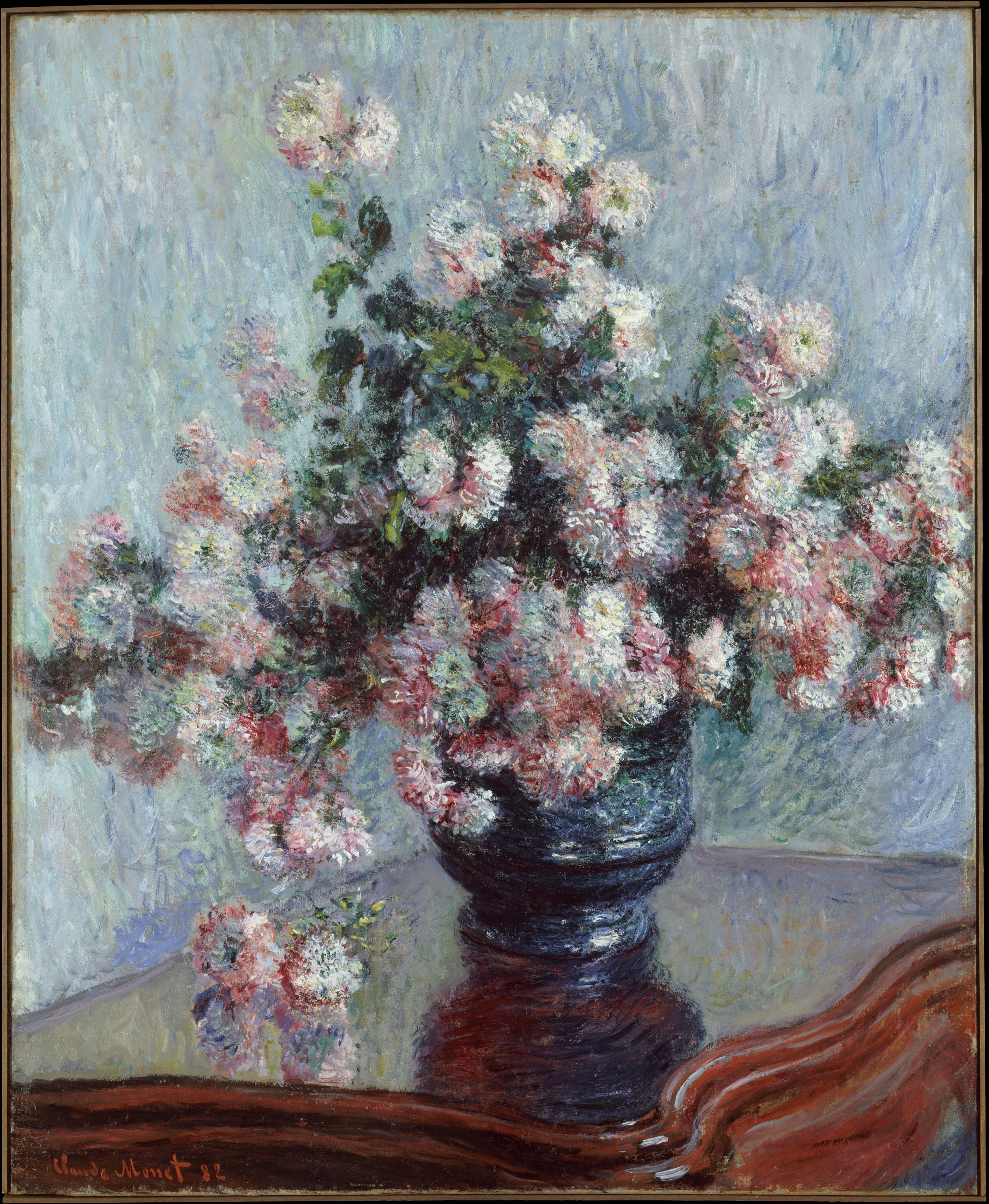 claude monet vase of flowers of monet flower paintings with regard to df9e140729bad87413d35355bf0f159f