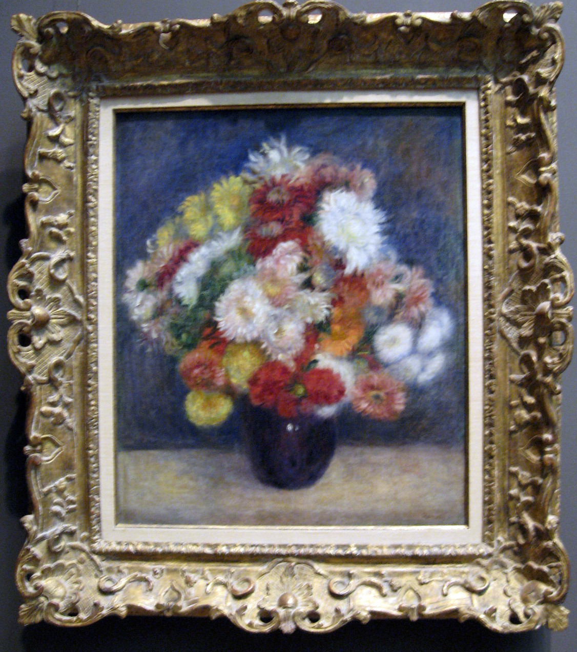 claude monet vase of flowers of the art of painting september 2010 with pierre auguste renoir