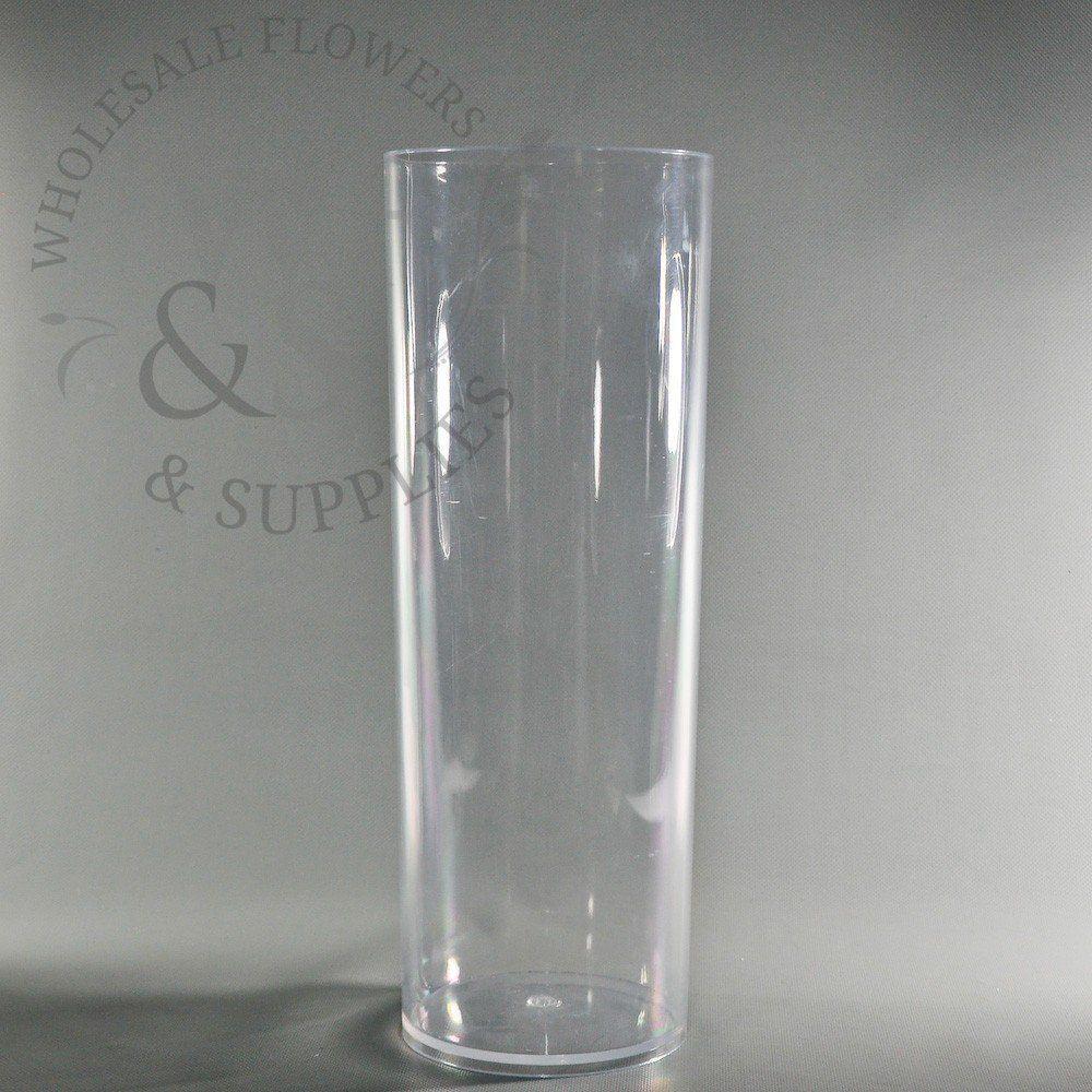 clear acrylic cylinder vase of plastic cylinder vases photos 8682h vases plastic pedestal vase in plastic cylinder vases gallery plastic cylinder vase clear 6 x 16 5 of plastic