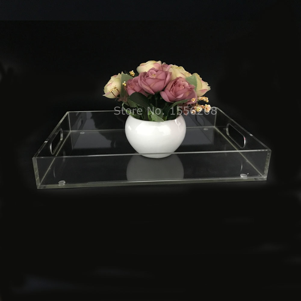 Clear Acrylic Vase Of Fashion Clear Acrylic Tea Tray and Coffee Table Tray Breakfast Tray for Fashion Clear Acrylic Tea Tray and Coffee Table Tray Breakfast Tray for Home Storage Holder In Storage Trays From Home Garden On Aliexpress Com Alibaba