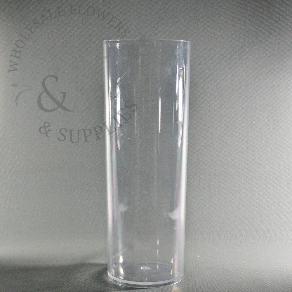 clear acrylic vase of plastic cylinder vases gallery plastic cylinder vase clear 6 x 16 5 with plastic cylinder vase clear 6 x