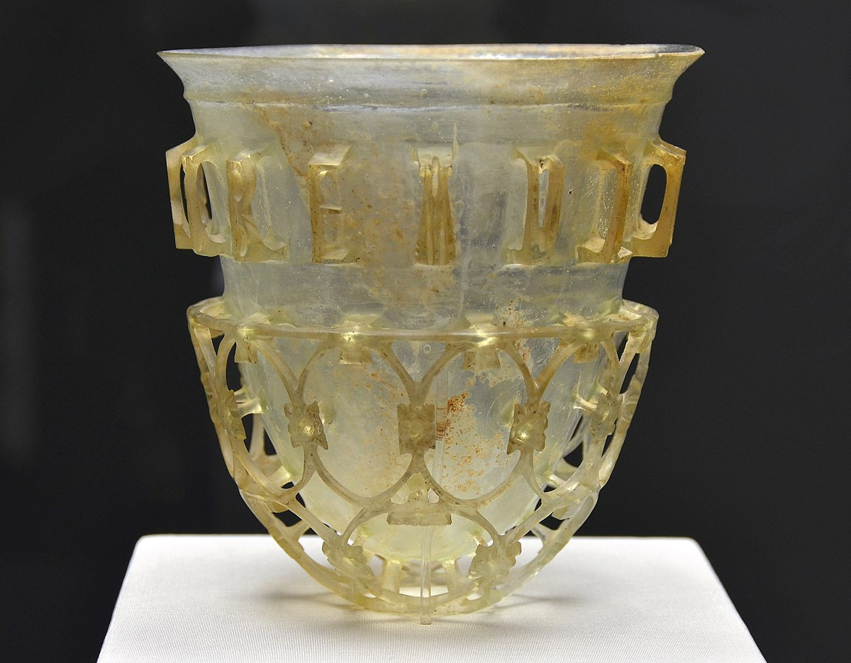 clear colored glass vases of roman glass wikipedia regarding 1200px munich cup diatretum 22102016 1