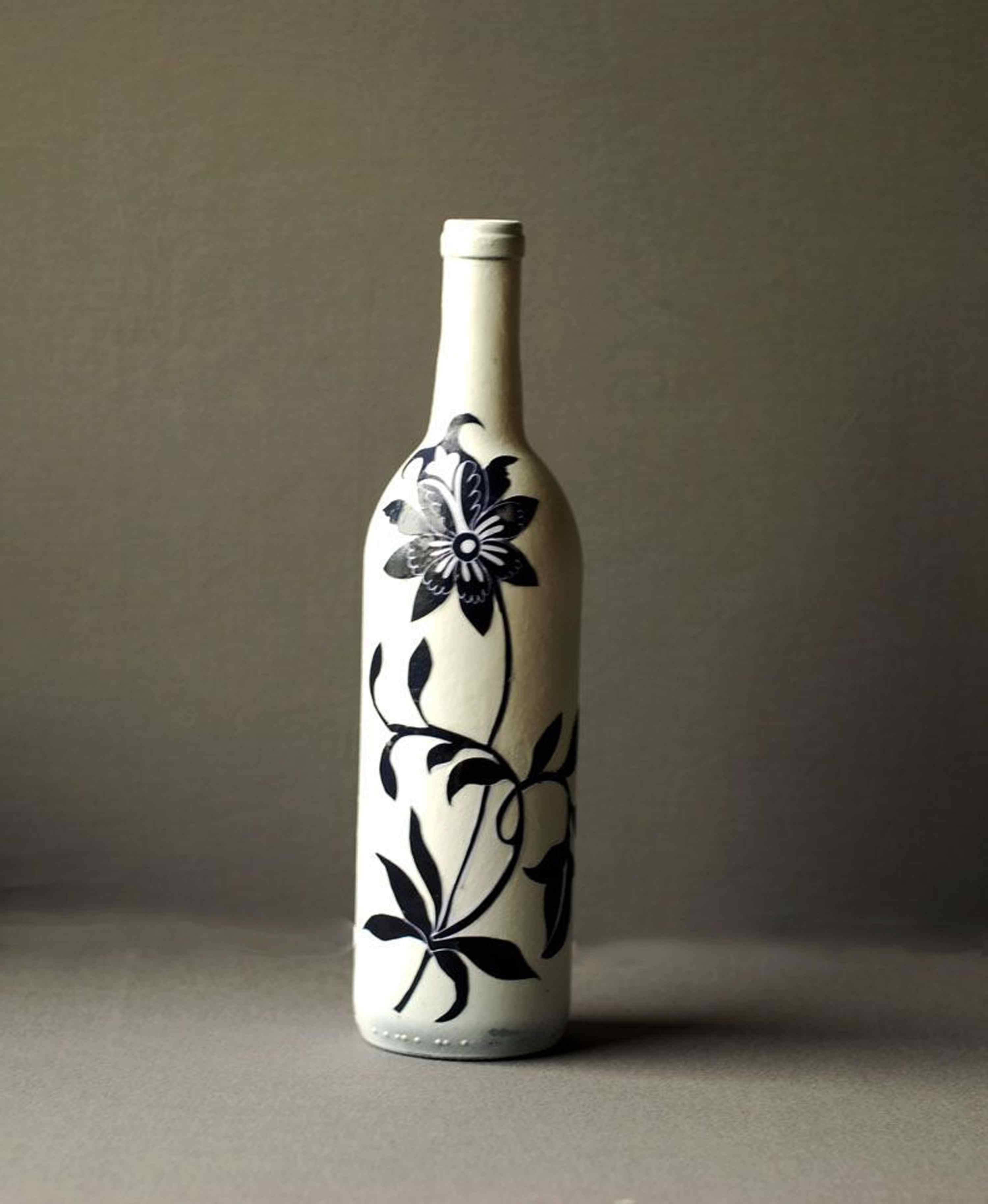 clear glass bottle vase of asian style recycled decoupage wine bottle craft for decoupaged wine bottle 58bcb5685f9b58af5cc40cbb