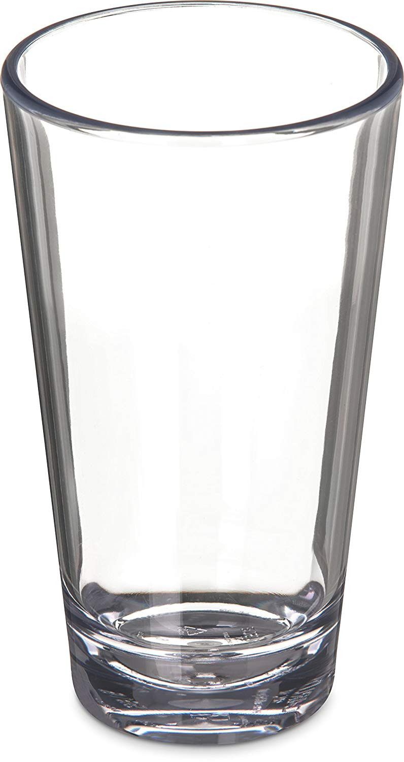 clear glass teardrop vase of amazon com carlisle 561607 alibi heavy weight plastic pint mixing inside amazon com carlisle 561607 alibi heavy weight plastic pint mixing glass 16 oz industrial scientific
