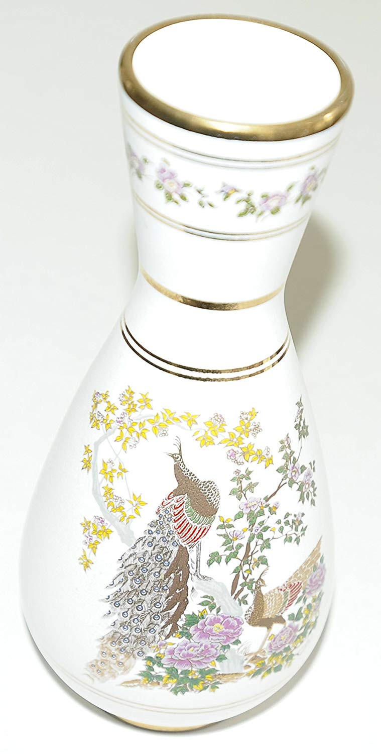 clear glass vase with gold trim of neofitou handmade in greece 24k gold white vase peacocks in the with neofitou handmade in greece 24k gold white vase peacocks in the garden of gods and goddess of ancient greece amazon co uk kitchen home
