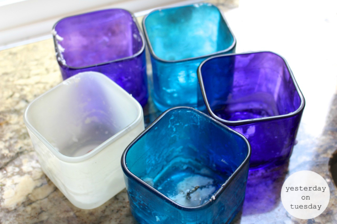 clear glass vases michaels of 7 gorgeous ways to reuse glass candle holders intended for candles without wax