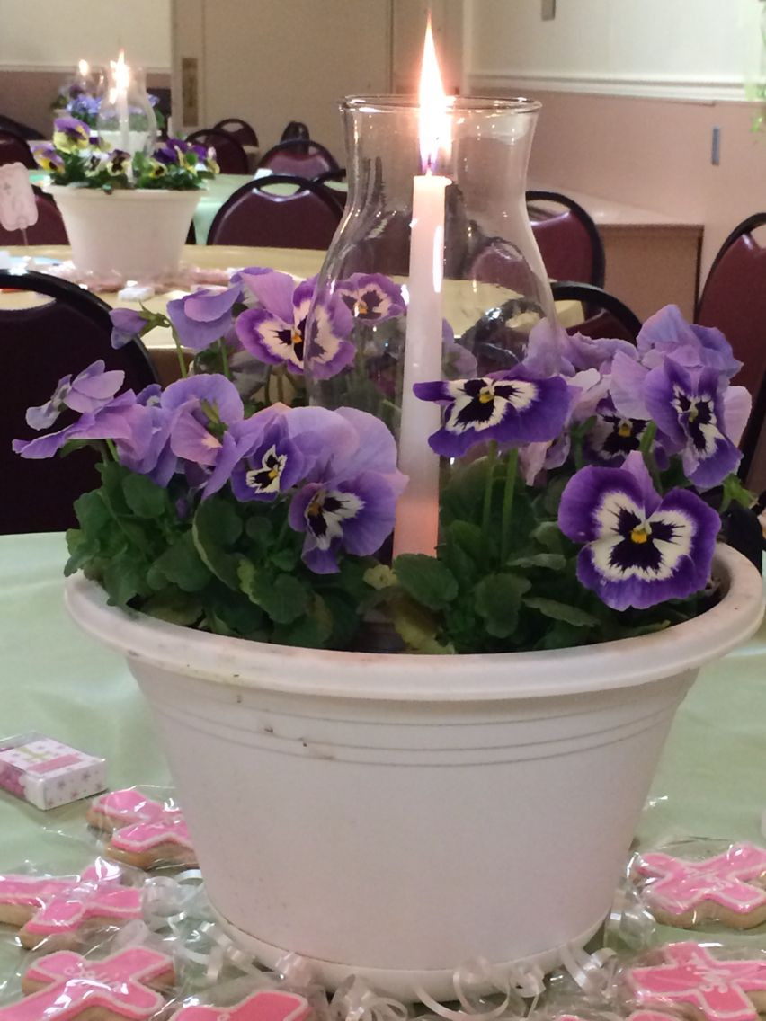 clear glass vases michaels of communion centerpieces pansies from home depot hurricane globes with communion centerpieces pansies from home depot hurricane globes from michaels