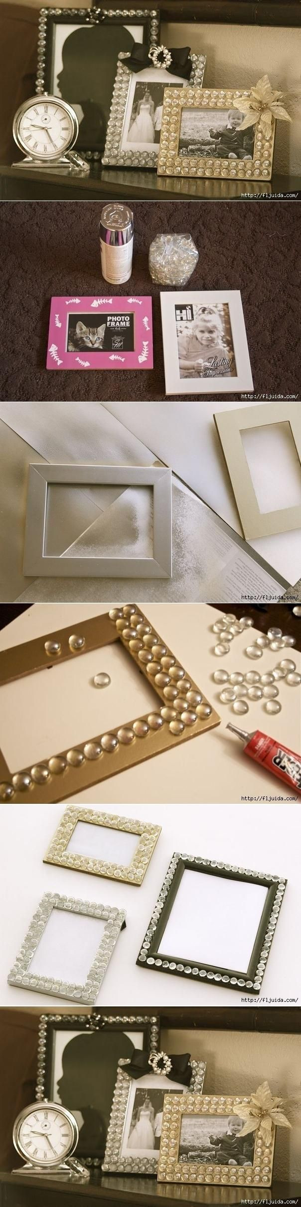 clear mini discs vase filler of 28 best craft ideas images on pinterest craft good ideas and throughout diy glamorous picture frame with glass gems from the dollar tree store christmas or mothers