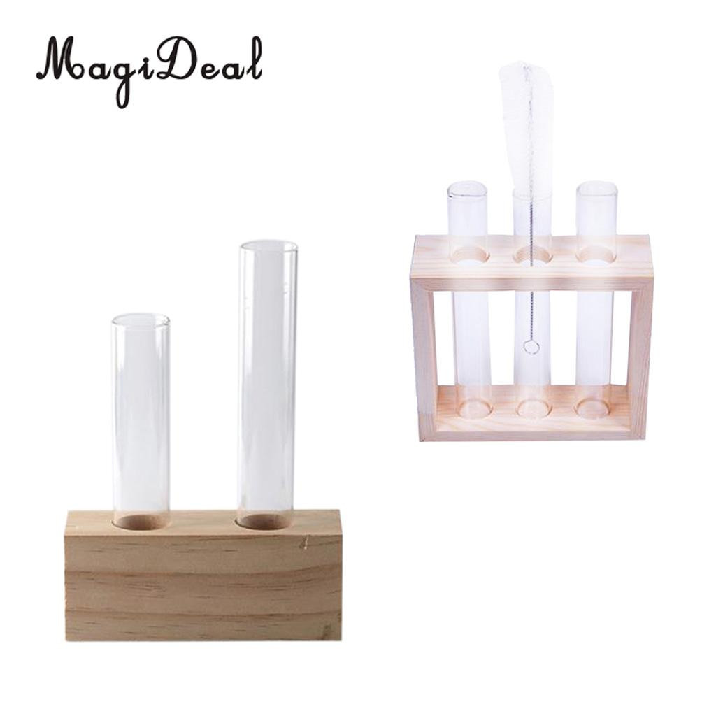 clear plastic bud vase of 2pcs plant test tube flower bud vase in wooden stand perfect for intended for 2pcs plant test tube flower bud vase in wooden stand perfect for hydroponic plants home garden