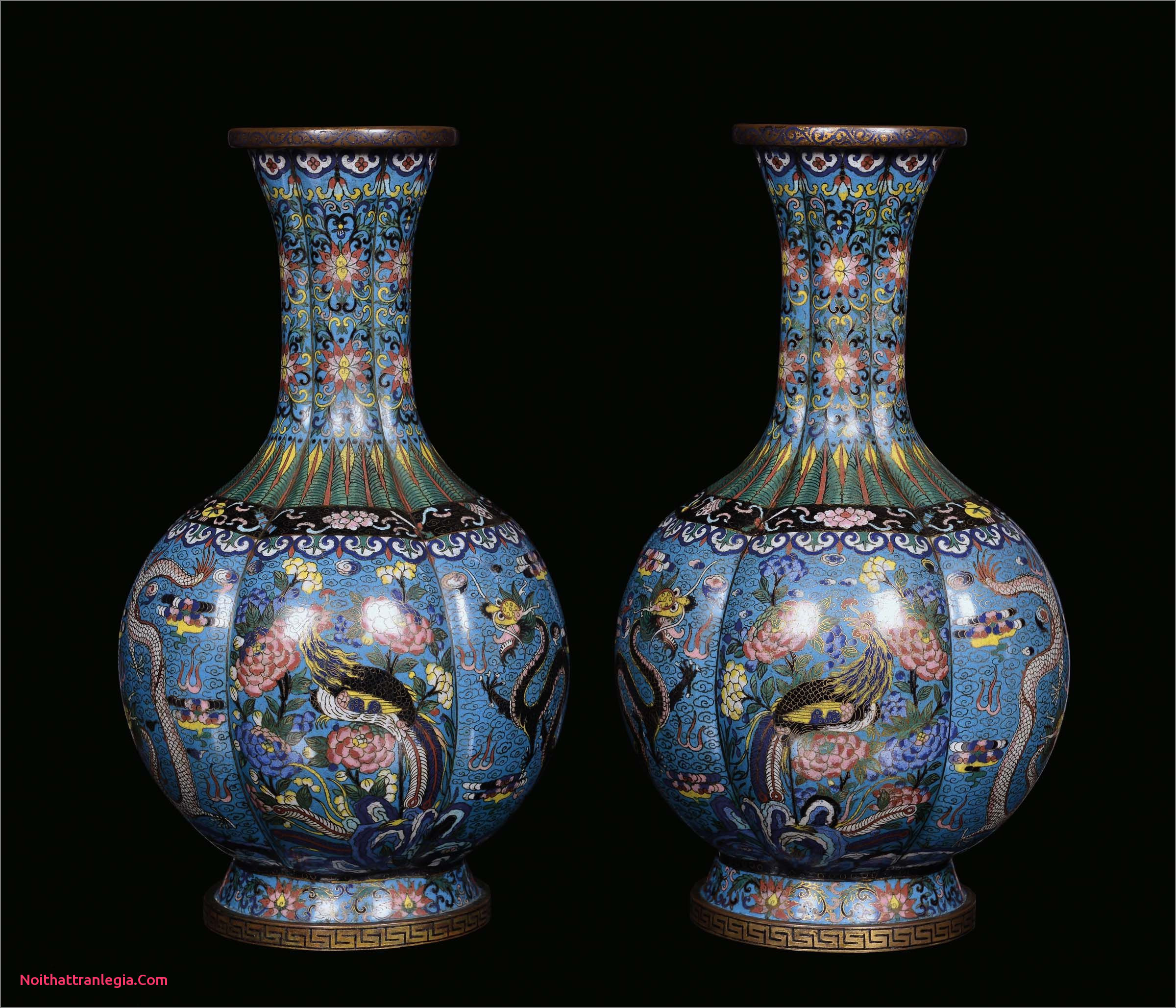 cloisonne vase marks of 20 chinese antique vase noithattranlegia vases design inside a pair of cloisonna vases with naturalistic decoration china qing dynasty guangxu period