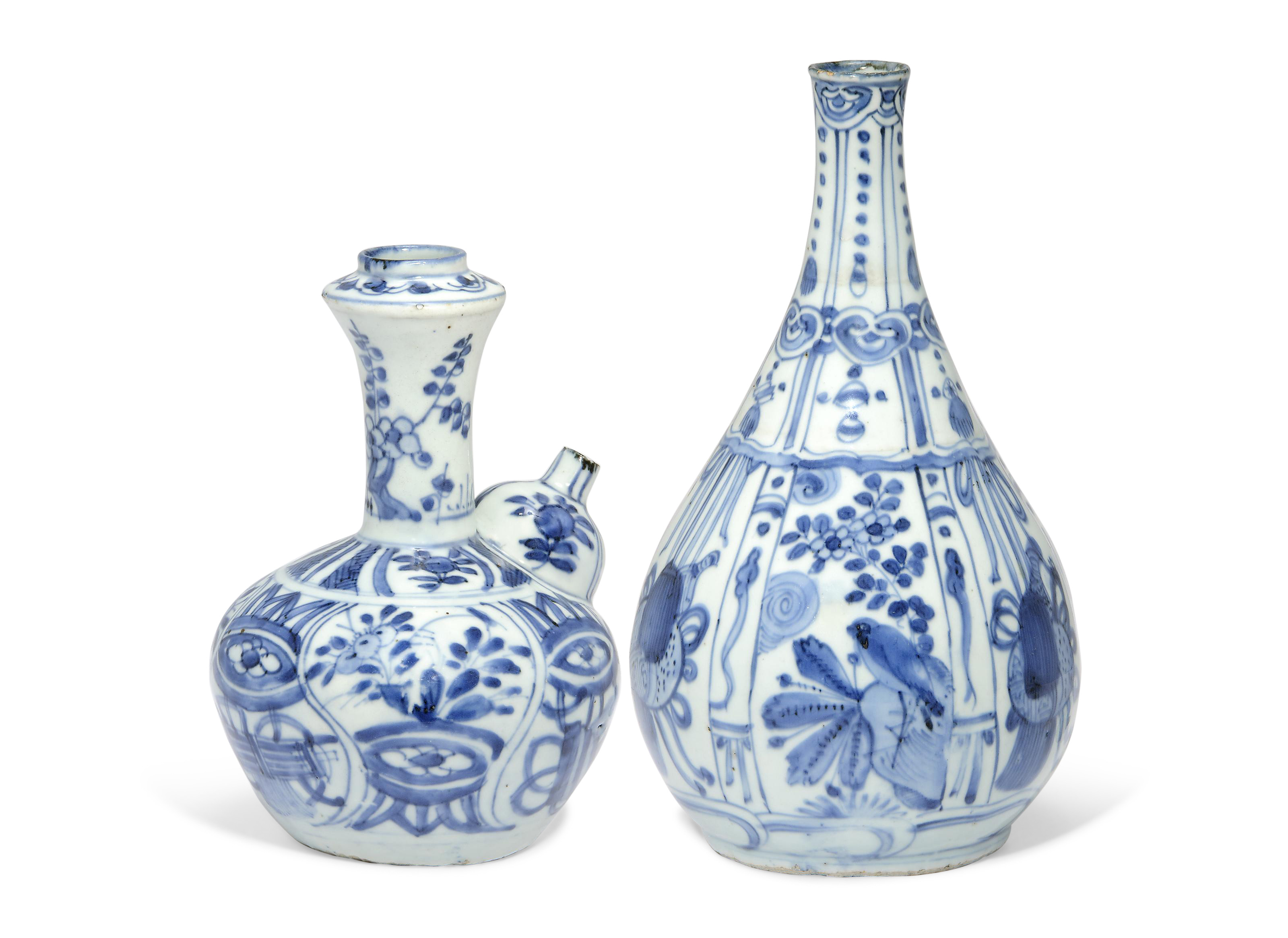 cobalt blue glass vases of a blue and white kendi and a bottle vase wanli period 1573 1619 regarding a blue and white kendi and a bottle vase wanli period 1573 1619 christies