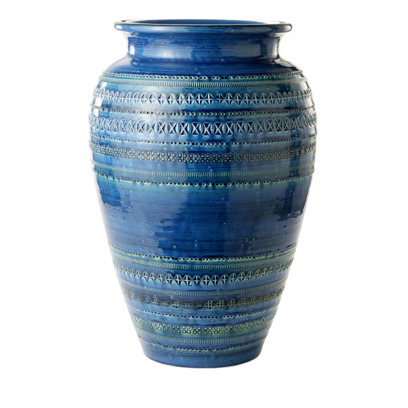cobalt blue pottery vase of blue umbrella holder by aldo londi shop bitossi ceramiche online regarding we use profiling cookies to offer our services personalize your experience and send you advertising by continuing to use the site you accept our policy
