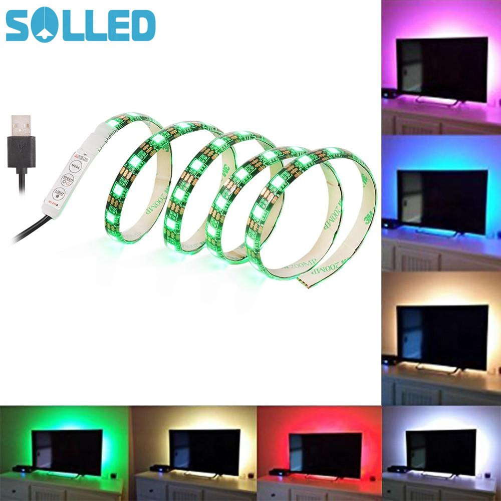 color changing submersible led vase lights of aliexpress com buy solled 2m 120leds tv led strip light usb port intended for aliexpress com buy solled 2m 120leds tv led strip light usb port black pcb rgb color changing light kit for flat screen hdtv led desktop pc monitor from