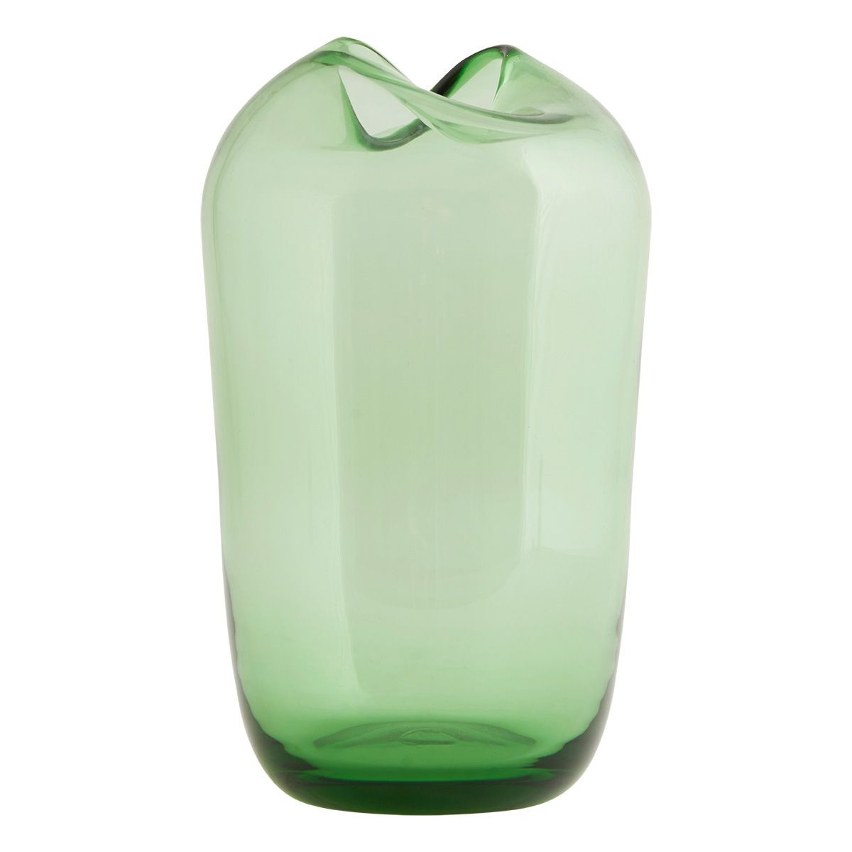 colored glass cylinder vases of elegantna­ vaza wave z barevnaho skla od danska firmy house doctor with cuemars cuemars large green wave vase this beautiful decorative vase will give a fresh and minimalist style to any room the wavy top gives a unique and