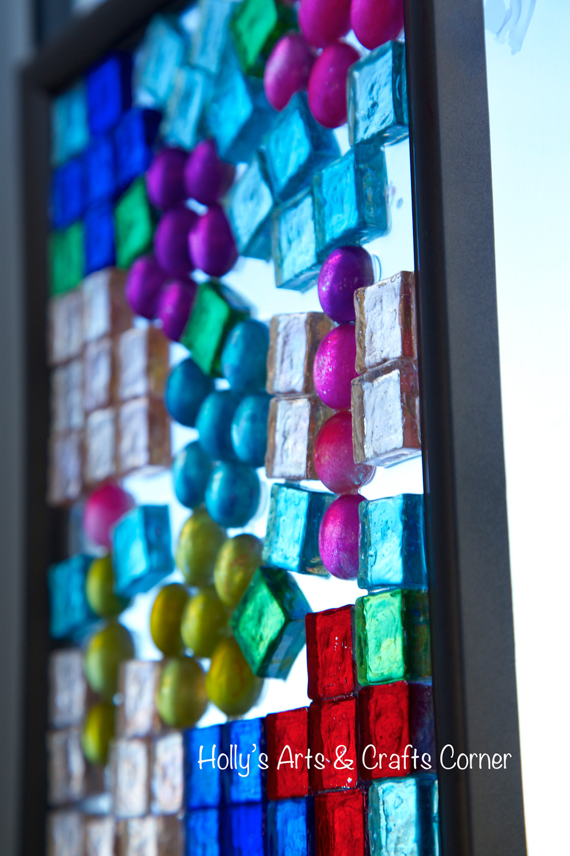 30 Fantastic Colored Glass Gems for Vases