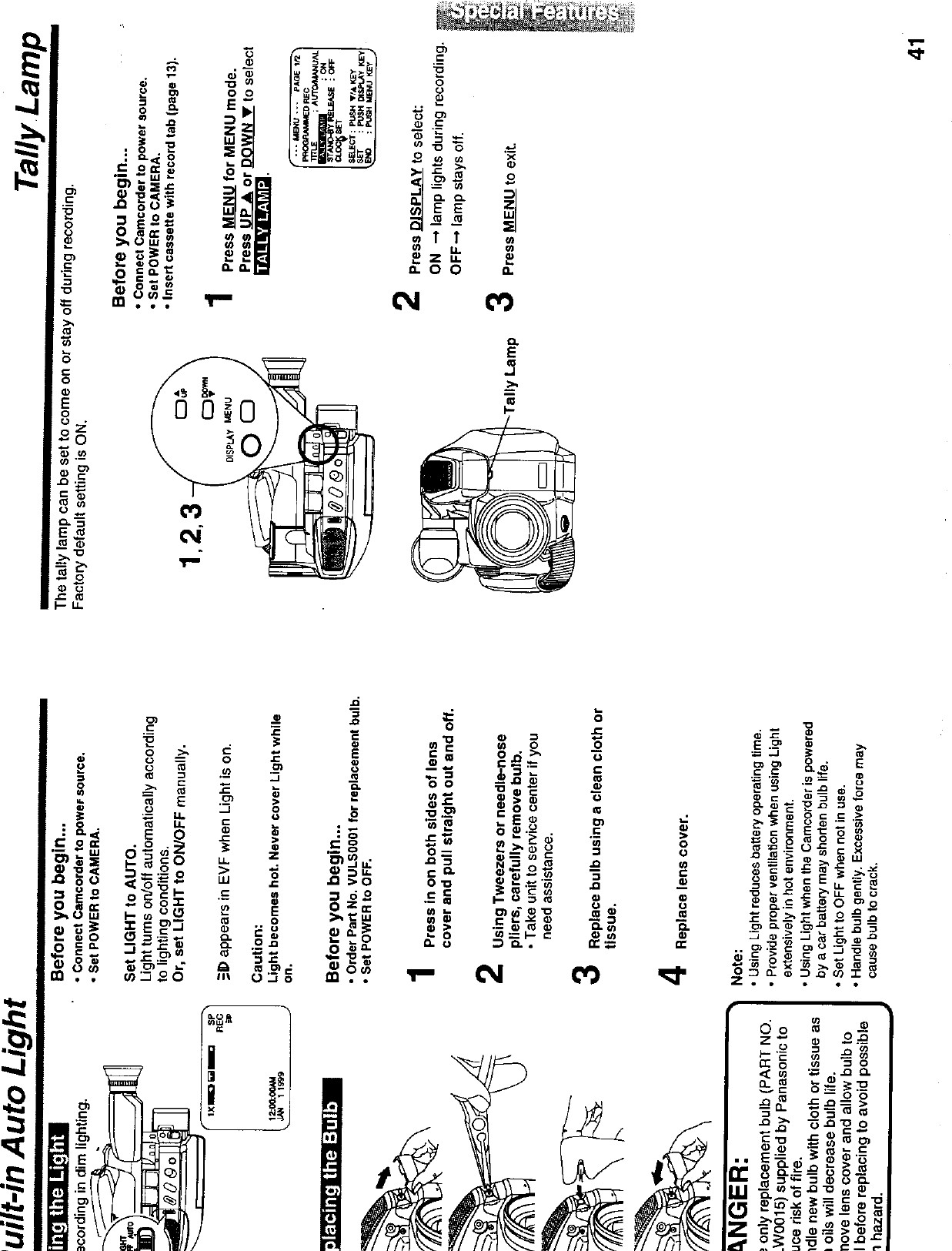 cone vase replacement of 5lu0034 user manual 16501 panasonic corporation of north america inside page 20 of 5lu0034 user manual 16501 panasonic corporation of north america