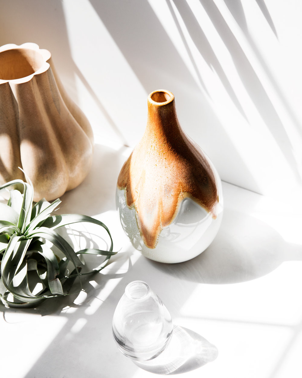 22 Fabulous Connected Glass Bud Vases