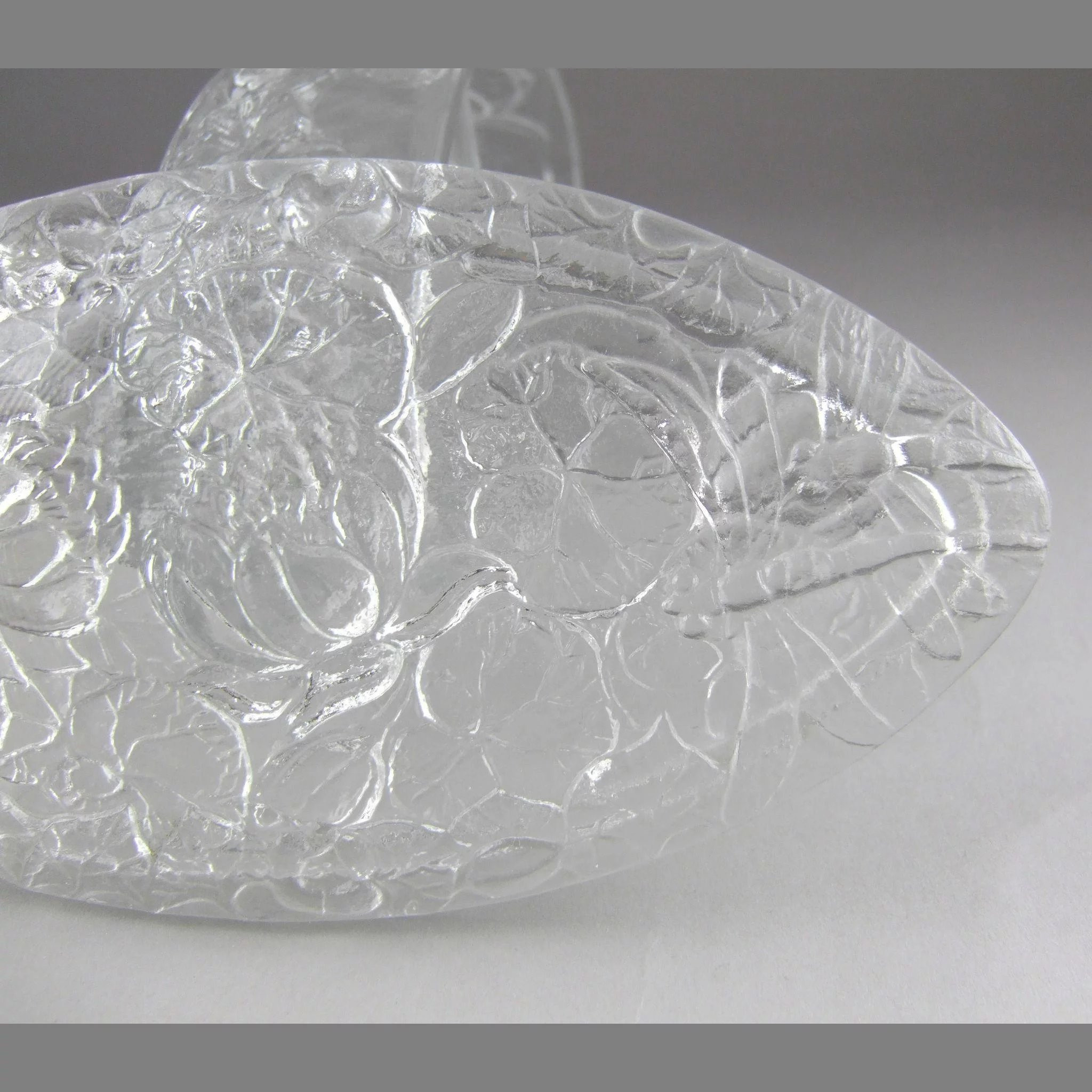 consolidated glass vase of phoenix consolidated glass c1931 pond lily oval candy box 2591 with click to expand
