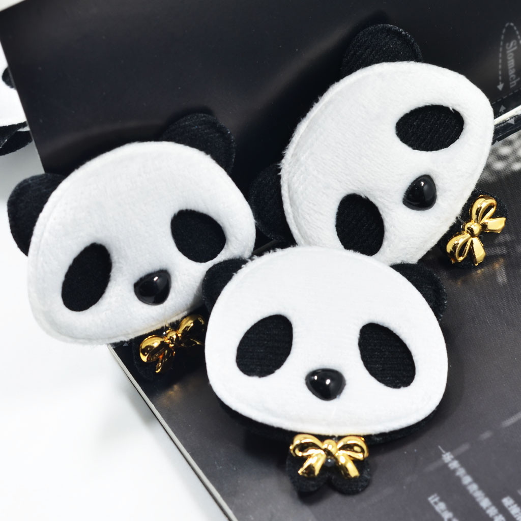 Cotton Vase Filler Of 10x Handmade Cotton Cloth Panda Applique Cute Felt Patches Diy Hair with 10x Handmade Cotton Cloth Panda Applique Cute Felt Patches Diy Hair Bow Clips Accessories Sewing Clothes